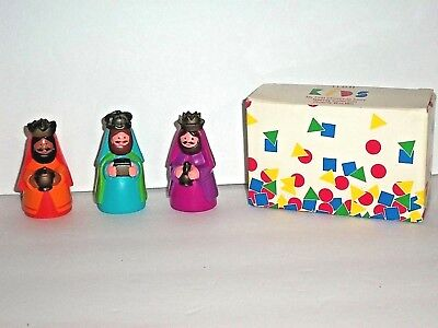 Avon *Kids *My First Christmas Story Nativity Collection *Three Wise Men Figures