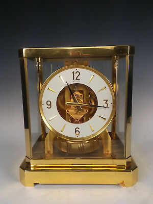 STUNNING!!  Working Jaeger LeCoultre Atmos Clock 528-8 almost 540 ser. # 561823