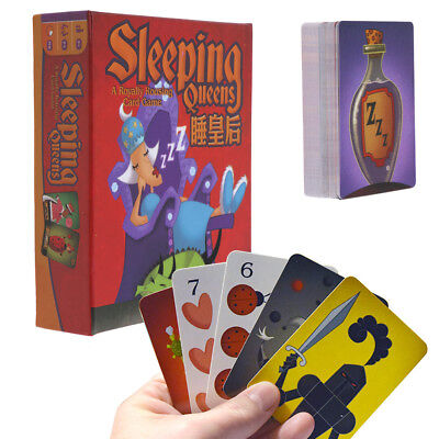 Sleeping Queens Card Game Board Game Kids Educational Toy Family Friend Party AU
