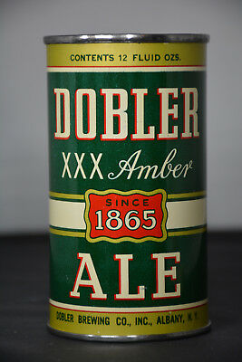 Dobler Amber Ale  flat-top can, Dobler Brewing, Albany, NY *STUNNING*