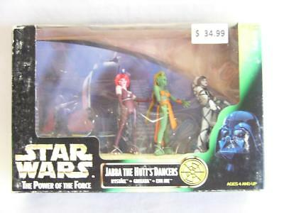 Star Wars Potf | Power Of The Force | Jabba The Hutt's Dancers | Kenner 1998