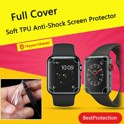 Full Cover Soft TPU Screen Protector Film For Apple Watch Series 4 40mm
