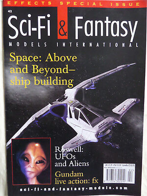 Sci-Fi & Fantasy Models Magazine Issue 42 - Space: Above and Beyond