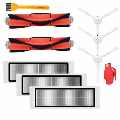 Accessories Kit for XIAOMI MI Robot Vacuum Replacement Parts 3 PCS Side Bru N2S2