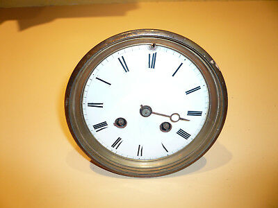 Ancien Mouvement Mecanisme  Pendule De Paris Horloge  Clock