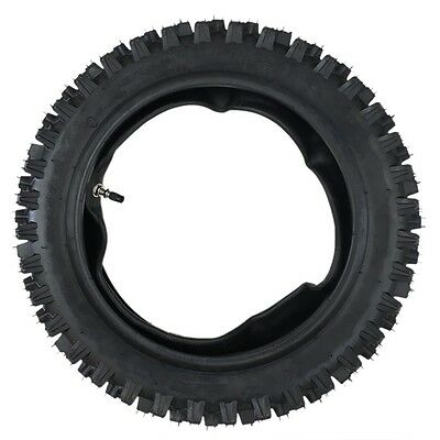80/100-12 12 Inch Rear Knobby Tyre Tire + Tube PIT PRO Trail Dirt Bike 3.00-12