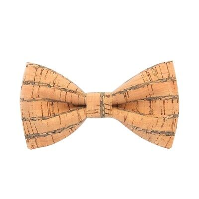 16e56856a48d Novelty Corkwood Bow Ties For Men Wedding Marriage Handmade Cork Wood Bow T  S3C7