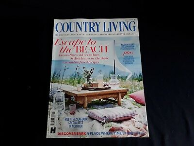 Country Living Magazine Issue July 2018 ~ New ~