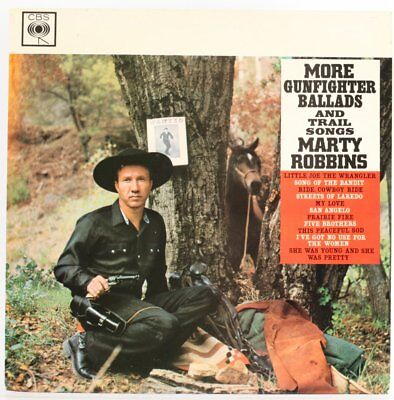 Marty Robbins, More Gunfighter Ballads and Trail Songs  Vinyl Record *USED*