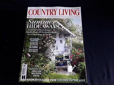 Country Living Magazine Issue August 2018 ~ New ~