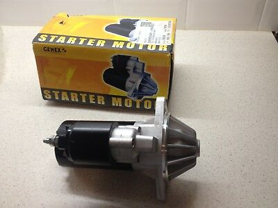 Genex Starter Motor To Suit Ford Falcon 6 Cylinder XP-BF Models; 099-03-129