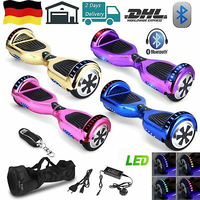 """6.5/8/10"""" Funsport Electric Self Balancing Scooter Balance Board Overboard"""