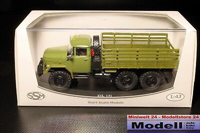 Start Scale Models 1014 ZIL 131 rus. Truck 1:43 NEU OVP