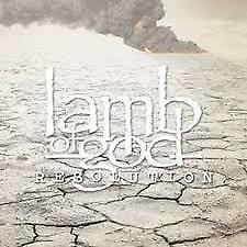 """CD LAMB OF GOD """"RESOLUTION"""". New and sealed"""