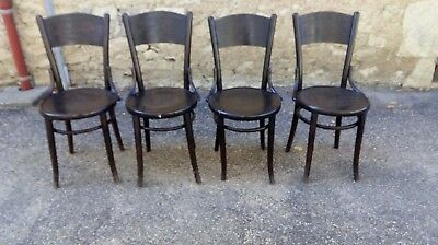 4 Chaises Bistrot Anciennes Thonet ?