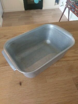 Frank Hawker Loaf / Bread Tin Stainless Steel Vintage