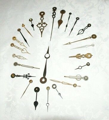 Mixed Job Lot Of Antique/Vintage Mantel/Wall Clock Hands