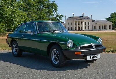 MG B GT, Genuine timewarp car with less than 1700 miles driven