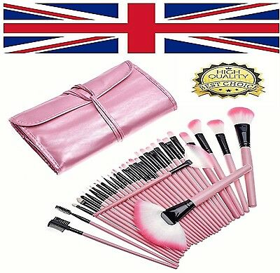 32 Pcs Professional Make Up Brush Set Foundation Brush Kabuki Kit Makeup Brushes