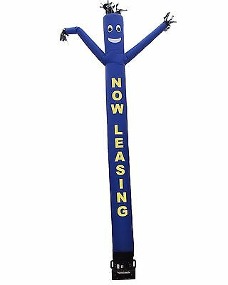 Inflatable Air Dancer NOW LEASING Blue and Yellow Attachment (NO BLOWER)