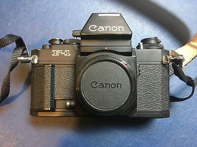 Canon F1 new with AE finder