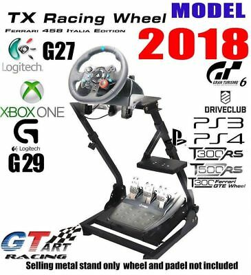 GT ART Racing Simulator Steering Wheel Stand for G27/G29/PS4/G920/T300RS/458/T80