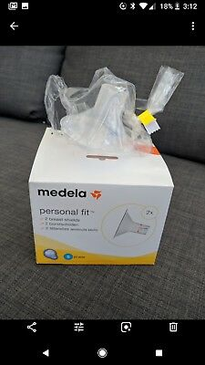 NEW Medela Breast Pump Breast Shield X1 Personal Fit Small 21 mm