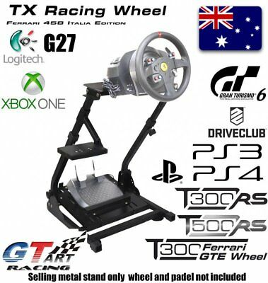 GT ART Racing Simulator Steering Wheel Stand for G27 G29 PS4 G920 T300RS T150 OZ