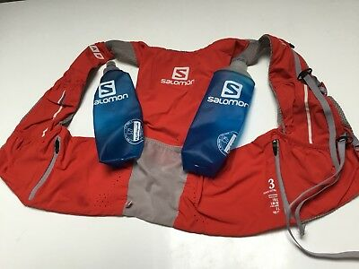 Salomon Slab Slab Sense Ultra 3 Set Running Trail Ultra Hydration sack