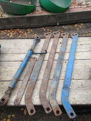 Tractor Top Link And 4 Stablizing Bars Massey Or Ford??