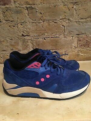 Saucony trainers size 8. Cobalt Blue. Used, in good condition