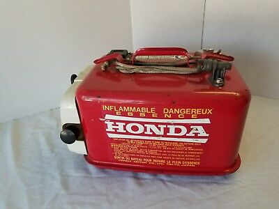 Vintage Honda Metal Marine Gas Tank 3.4 Gallon Honda Collectors