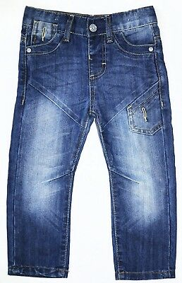 Boys toddler jeggings trousers jeanswashed effect various sizes