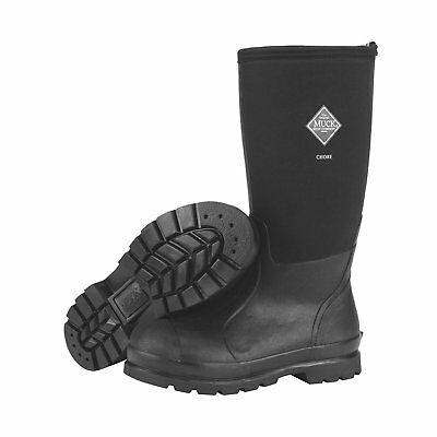 Muck Boots Chore Classic Mens Rubber Work Boot Men size 8 BLACK