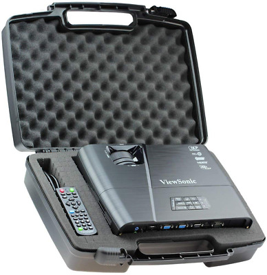 Skywin Portable Travel Hard Case for ViewSonic PJD5155 3300 Lumens SVGA HDMI