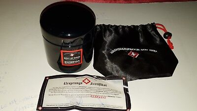 Swissvax Best Of Show Car Wax genuine with bag & certificate valeting detailing