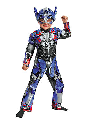 Transformers - Age of Extinction - Optimus Prime Muscle Costume - Toddler 2T