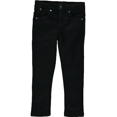 Girls toddler black skinny jeans jeggings trousers various sizes with tags