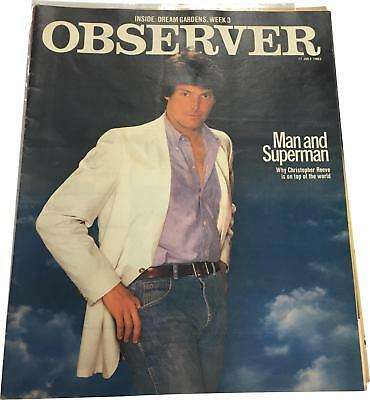 PRE-OWNED Observer Man & Superman 17 July 1983 News Magazine