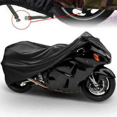 103''x40''x48'' XL Motorcycle Cover Water&Wind Proof Snow Dust Protector US SHIP