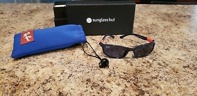 Boys Ray Bans Sunglasses Ages 4-7 Sunglasses Hut With Bag And Original Box!