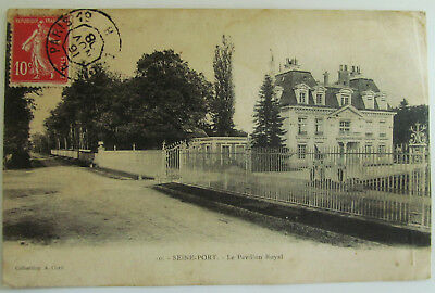 CPA 77 SEINE-PORT, le Pavillon Royal, 1908
