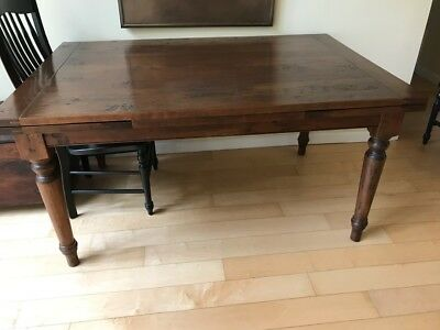 "Walnut Dinning table 54"" Expandable to 96"""