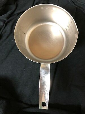 Vintage Foley 2 Cup Stainless Measuring Cup