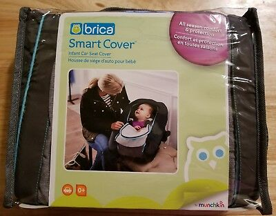 New Brica By Munchkin Infant Baby Car Seat Smart Cover