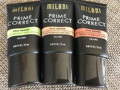 Milani Prime Correct Face Primer, You Choose
