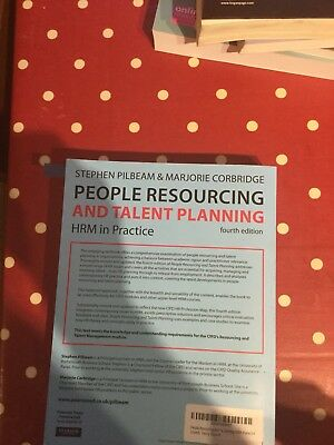 People Resourcing And Talent Planning By Pilbeam & Corbridge