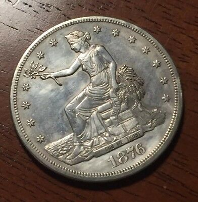 1876 Trade Dollar CC Carson City Looks Sharp!! Mint?? $$ Invest!