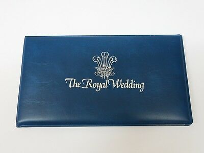Royal Wedding First Day Cover with uncirculated Crown Coin Charles Diana 1981