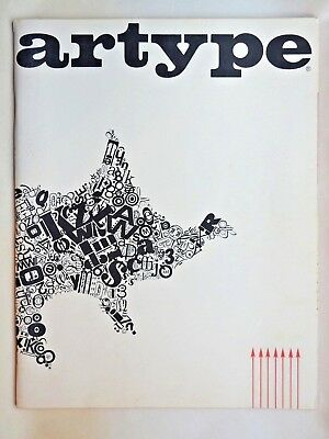 Artype 1972 Graphic Art Products Booklet Catalog Collectible EUC 73 Pages Fonts